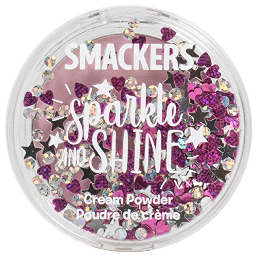 Lip Smacker Sparkle & Shine Cream Powder, Twlight Sparkle, 0.14 Ounce, Highlighter, Blush, Eyeshadow