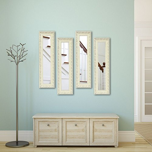 UPC 683318667440, Rayne Mirrors Molly Dawn French Victorian Wall Mirror, 3 Panels, 15.5W x 29.5H in.