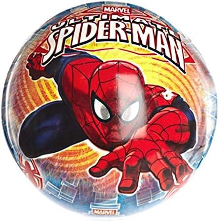 275 Spiderman Enfant Rangement V/êtement Les Colis Noirs LCN Sac de Sport avec Poche Marvel Spider-Man 44x20x23cm