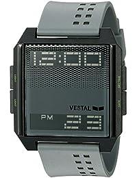 Unisex DIG036 Digichord Digital Display Quartz Grey Watch