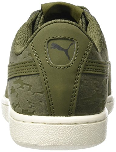 Puma Women's Vikky Vr Trainers, Olive Green (Olive Night-olive Night 01)
