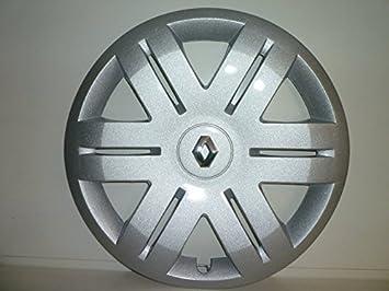 Juego 4 Copas Rueda Tapacubos Tachuelas Renault Megane Desde 2001 R 13 o r 15 (Logo cromado): Amazon.es: Coche y moto
