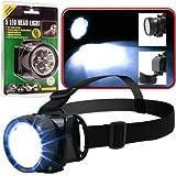 Super Bright 75-17L50 Stalwart 5 Led Headlamp with Adjustable Strap