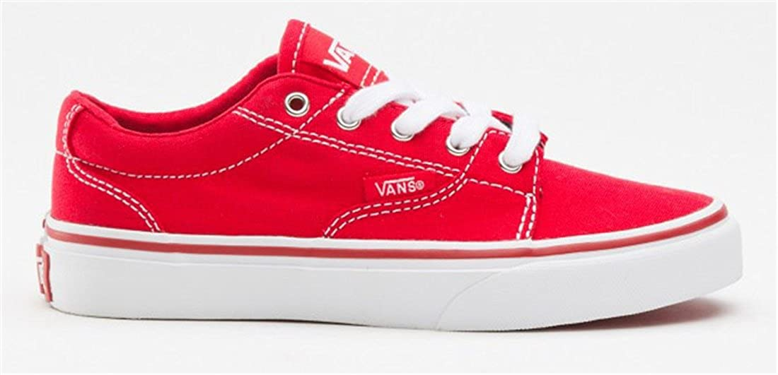 5c72073c9d64bb Vans Kress Boys Shoes - Red  Amazon.co.uk  Shoes   Bags