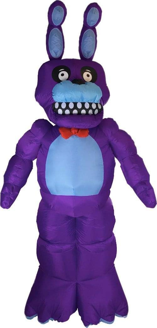 compras de moda online FIVE FIVE FIVE NIGHTS AT FrojoDY'S Animated Bonnie Inflatable Halloween Decoration  contador genuino