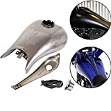 BBUT 6.6 gal Custom Stretched Gas Tank for 2008 - 2016 Harley...