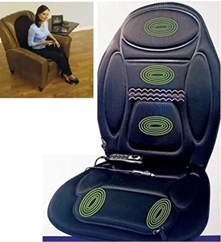 Homestyle R&G Body Back Thigh Massager Seat Warmer Chair Car Home Office Christmas Gift New