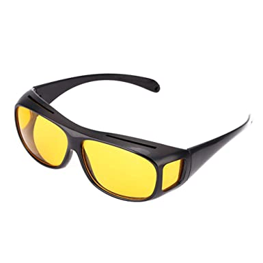 75adef90dec Polar-Tech Night Vision HD Driving Glasses  Amazon.co.uk  Clothing
