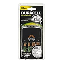Duracell Battery Charger Ion Speed 8000