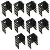 10pcs 718 Radiator Heat Sink Aluminum Alloy 19 x 14 x 9 mm from Optimus Electric