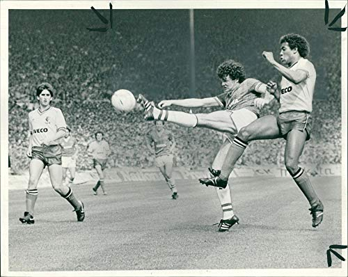 Vintage photo of The FA Cup Final:the everton ()