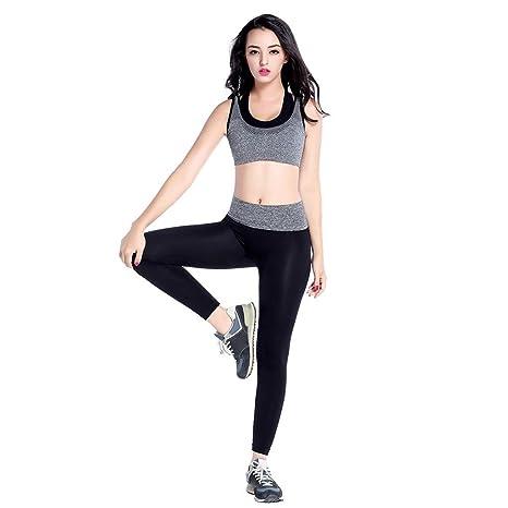 información para 2d9eb 1c7f1 Ropa Yoga Mujer Kit Top Bra Leggins Pantalon Set Mallas ...