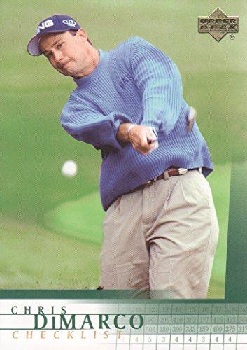 2001 Upper Deck Checklist - 2001 Upper Deck Golf #199 Chris DiMarco Checklist