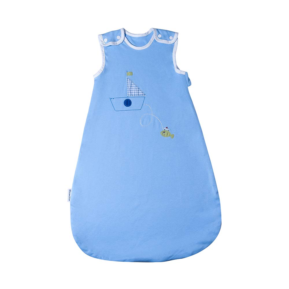 Sleep Bag Sleeping Sack for Baby Girl Boy BLOOMSTAR 2pc 100/% Cotton Baby Wearable Blanket Winter Weight