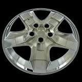 "Silver 17"" Hub Cap Wheel Covers for Chevrolet Malibu & Pontiac G6 - Set of 4"