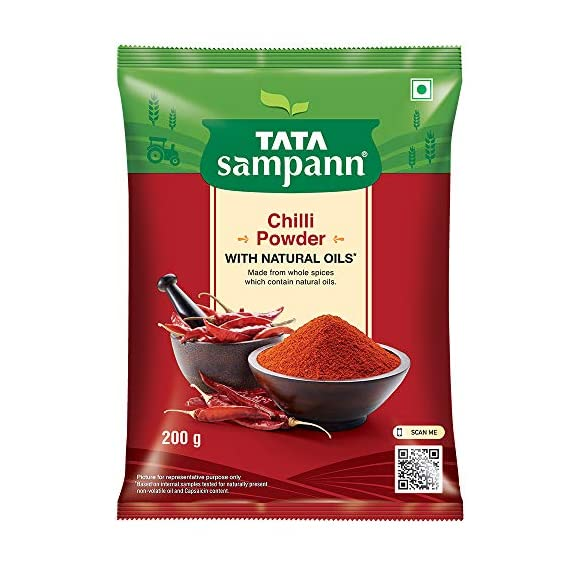 Tata Sampann Chilli Powder Masala, 200g