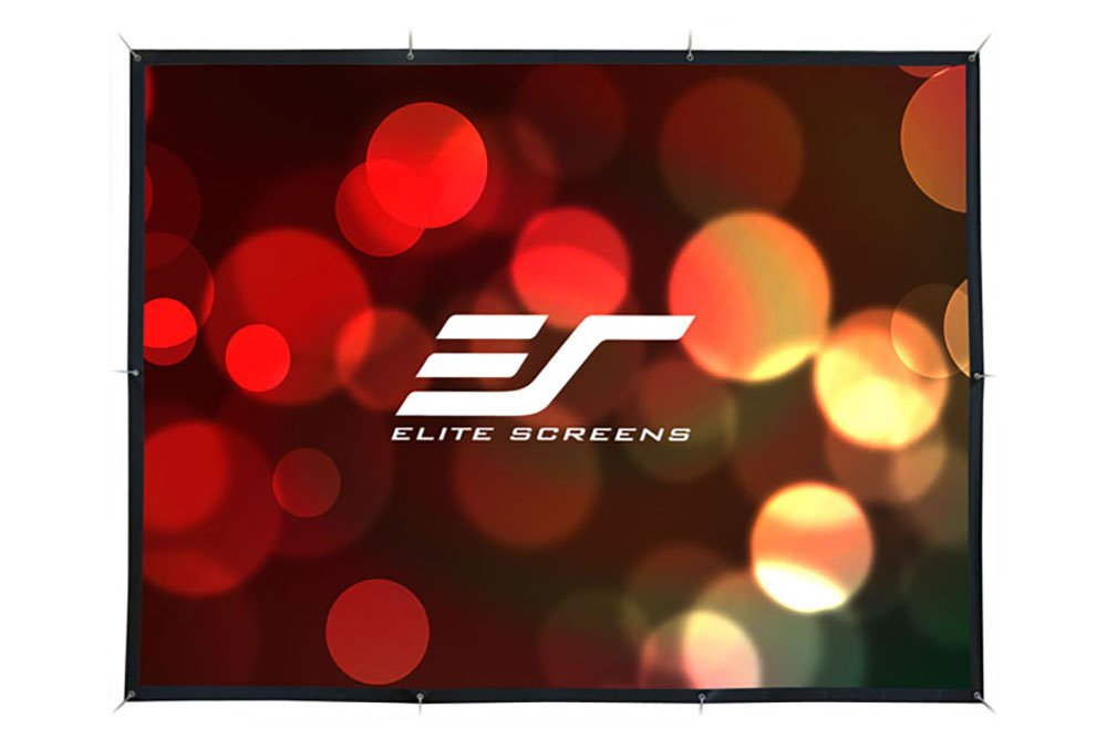 Elite Screens DIY Pro Series, 160-inch 16:9, Do-It-Yourself Indoor & Outdoor Projection Screen, Model: DIY160H1 by Elite Screens