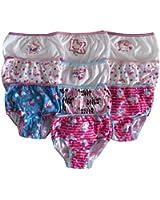 Hello Kitty Girl's 10 Pack Multi-print Underwear