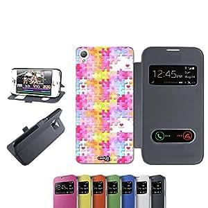 caselabdesigns Flip Carcasa Funda I unidades de amor para Sony Xperia Z3D6683negro–Funda protectora plegable de negro