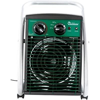 Dr. Infrared Heater Greenhouse Heater, 1500W | Lightweight and Portable