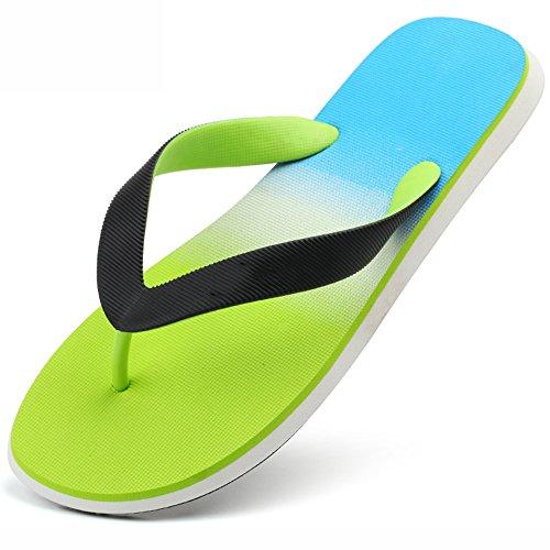 Taille 01 Cn44 Été Élégant Occasionnels taille Chaussures Xiaolin 02 Tongs Hommes Option Sandales couleur Gradient Hommes Eu43 Pour En Uk9 U6IUW4qgZ