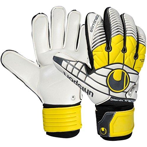 Uhlsport Eliminator Super Soft Bionik Goalkeeper Gloves Black/White 10
