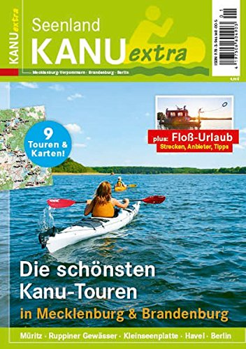 KANU extra: der Revierguide von Seenland - Das Reisemagazin für Urlaub am Wasser