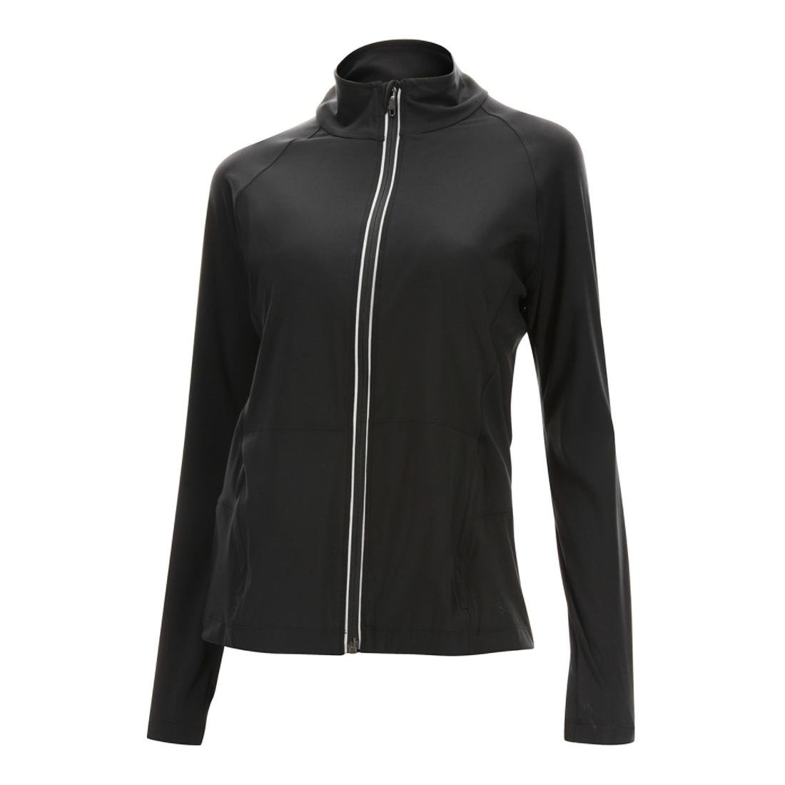 2XU Women's Form Studio Jacket, Black/Black, Small 2XU Pty Ltd WR4159a