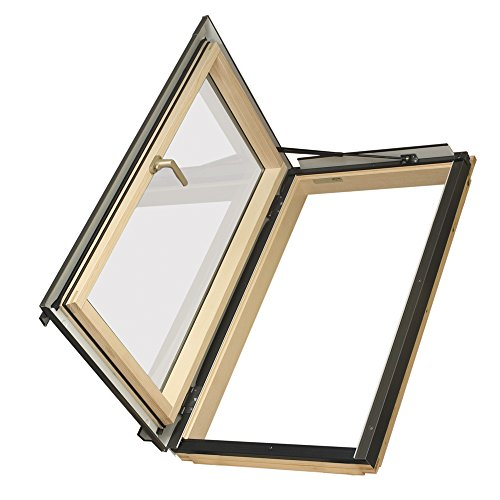 FAKRO FWU-L 69158 Egress Roof Window, 24-Inch x 46-Inch, Left Opening