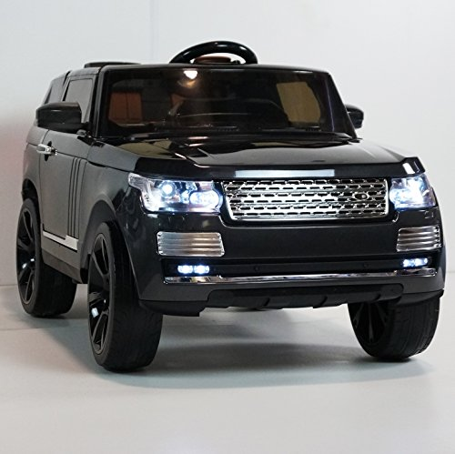 amazoncom battery operated 12v ride on toy car for kids range rover supercharge style remote control smartwheels toys games