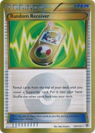 (Pokemon - Random Receiver (138) - Black and White Plasma Storm - Holo)