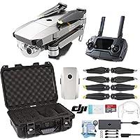 DJI Mavic Pro Platinum Drone with Custom Nanuk Waterproof Hard Case (Black)