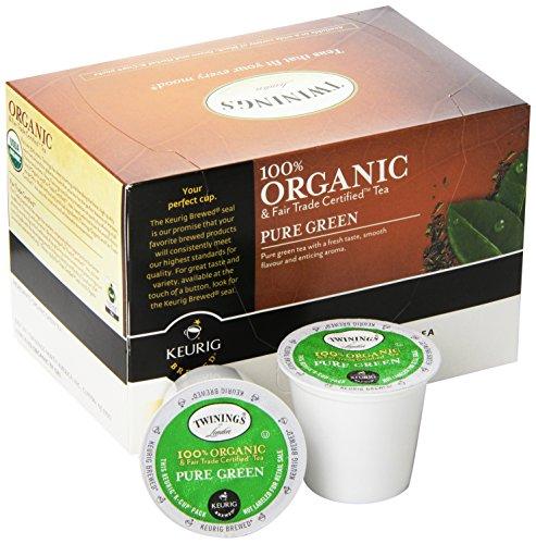 Twinings Organic Pure Green Tea Keurig K Cups 12 Count