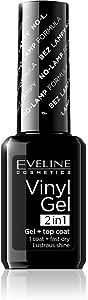ايفلين - طلاء أظافر فينيل چل 1x2اللون أسود رقم 211 - 12 مل