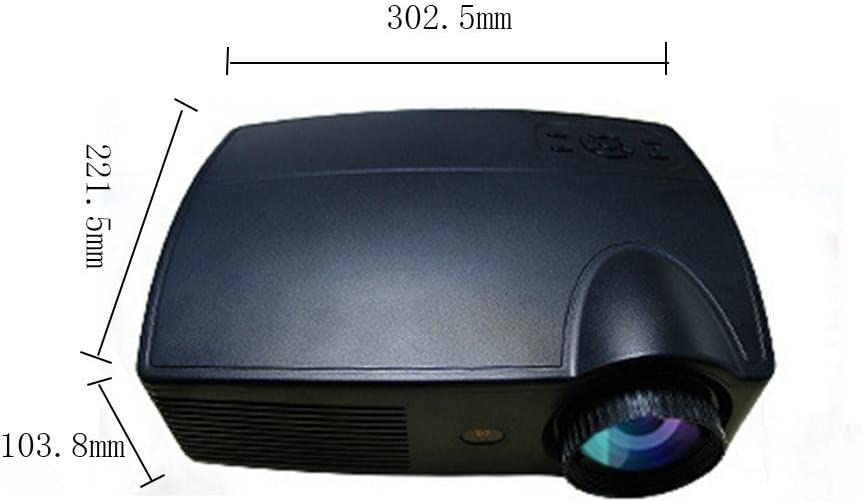 wly&home HD Proyector LED 1080P 3300 Lumenes, 1280 x 800P hasta ...