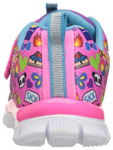 Skechers Skech Appeal Pixel Princess, Zapatillas de Running para Niñas, Varios Colores (Multicolour), 25 EU