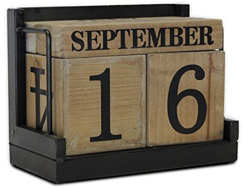 block-calendar-wood-blocks-with-metal-stand-perpetual-by-urban-legacy