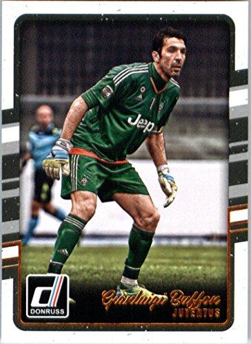 2016 Donruss #110 Gianluigi Buffon Juventus Soccer Card in Protective Screwdown Display Case