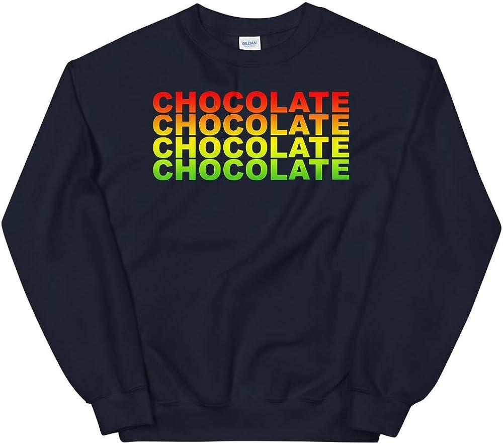 Beer Retro Rainbow Vintage Chocolate Gift Unisex Sweatshirt