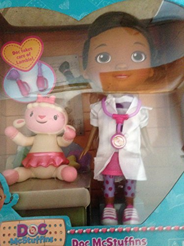 Just Play Disney Doc McStuffins & Lambie Doll Set