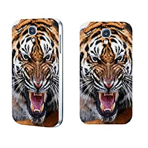 Cool Back Hard Plastic Animal Print Design Phone Protector Case Cover Shell for Samsung Galaxy S4 I9500 Personalized (tiger BY411)