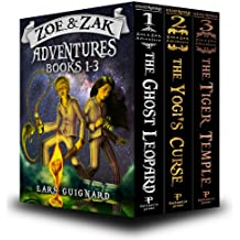 Zoe & Zak Adventures: Books 1-3 (Kids Adventure Series)