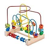 Best Bead Mazes - Komorebi Wooden Animal Beads Maze Game Educational Preschool Review