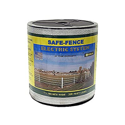 Safe Fence 1 1/2in Wide Poly Tape 200 Ft