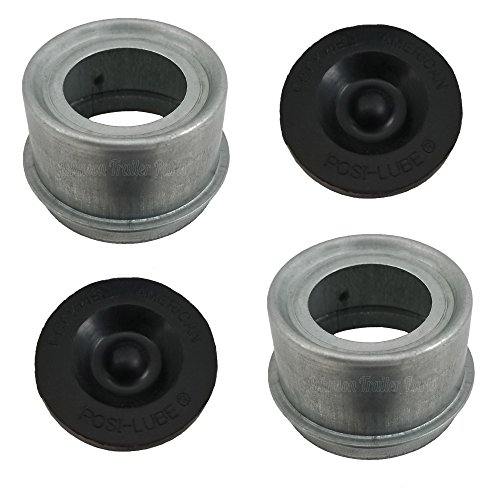 - Posi-Lube Grease Cap Set - Fits Most 7,000 Axles - 2.717