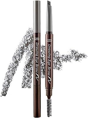 ETUDE HOUSE Drawing Eye Brow 0.25g #5 Grey | Long Lasting Eyebrow Pencil | Soft Textured Natural Daily Look Eyebrow Makeup