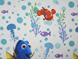 Finding Dory Sun Rays 100% Polyester (FLAT SHEET ONLY) Size Full Boys Girls Kids Bedding