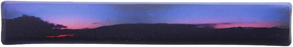 Man-hj Keyboard keycaps Space Bar Keycap 6.25u Novelty Five-Sided Dyesub Profile PBT for GK61 Black Switch Keyboard