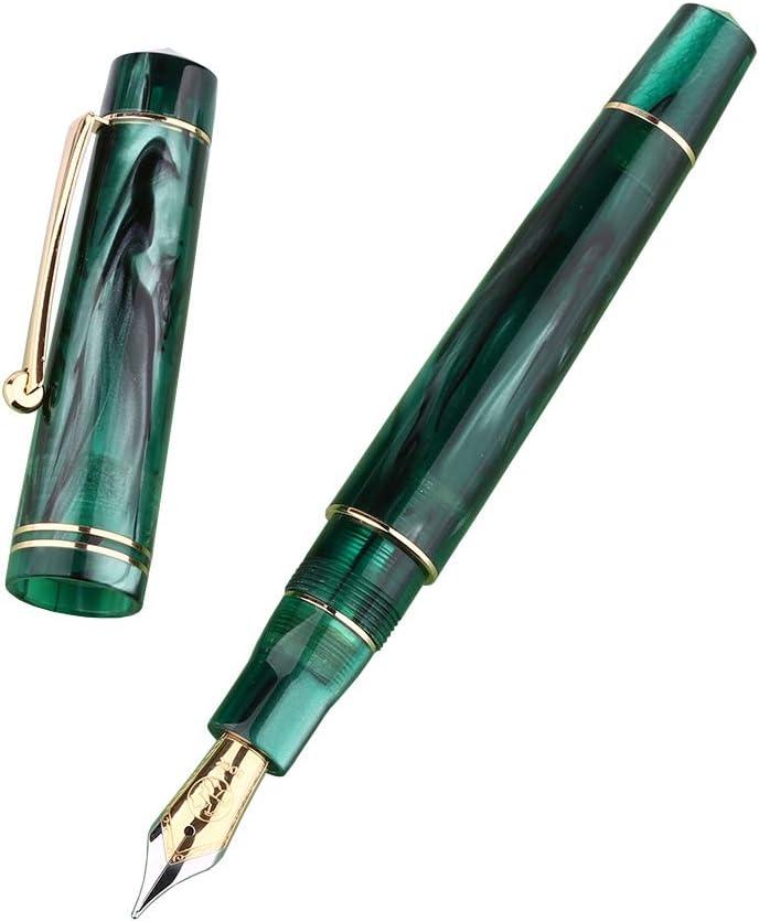 M800 Green Acrylic Fountain Pen