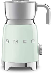 Smeg 50's Retro Style Aesthetic Milk Frother, MFF01 (Pastel Green)